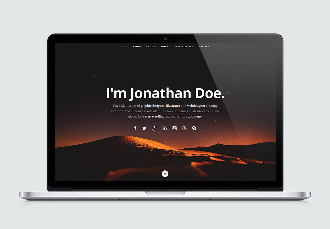 free portfolio website templates - ceevee high quality free website template by styleshout