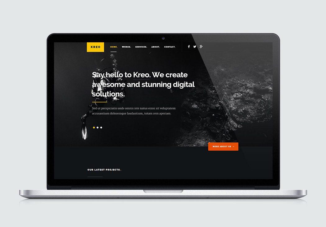 Free Site Template - Kreo