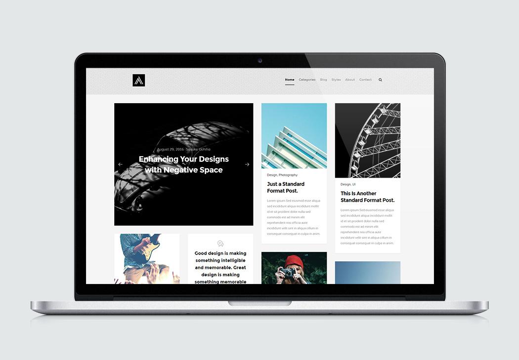 Clean Website Design Psd